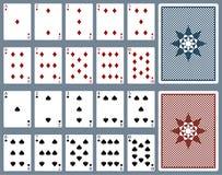 Speelkaarten vector illustratie