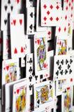 Speelkaartenachtergronden 2 royalty-vrije stock foto's