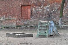 Speelplaats Stock Foto