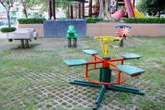 speelplaats Stock Fotografie