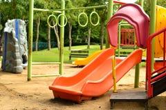 Speelplaats bij het park Royalty-vrije Stock Foto