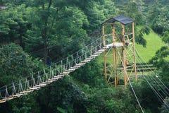 Speelplaats bij Umbul-sidomukti Royalty-vrije Stock Fotografie