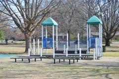 Speelplaats en Plaatsingsgebied voor Families royalty-vrije stock foto's