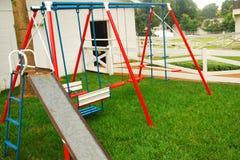 Speelplaats in Graceland stock afbeelding