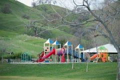 Speelplaats in het idyllische plaatsen Royalty-vrije Stock Foto
