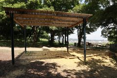 Speelplaats met vooruitzichten Stock Fotografie