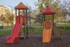 Speelplaats 2 van kinderen royalty-vrije stock foto