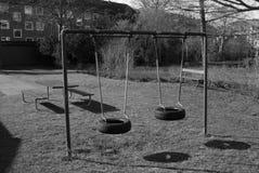 Speelplaats 2 van kinderen Royalty-vrije Stock Afbeeldingen