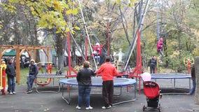 Speelplaats voor Kinderen stock video