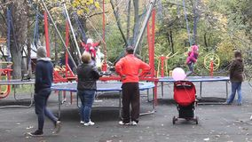 Speelplaats voor Kinderen stock footage