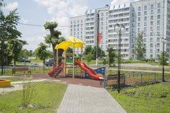 Speelplaats voor Kinderen Stock Foto's