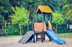 Speelplaats voor Kinderen Royalty-vrije Stock Afbeeldingen