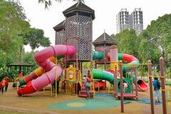 Speelplaatsfaciliteit in Cyberjaya Maleisië wordt gevestigd dat stock foto's