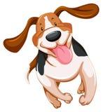 Speels puppy stock illustratie