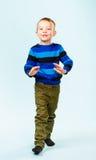 Speelse jongen Stock Foto's