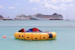 Speeltijd in St Maarten Royalty-vrije Stock Fotografie