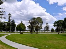 Speers Point Park. View in Lake Macquarie, Australia royalty free stock image