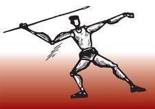 Speerspieler Stockfoto