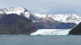 Spegazini glacier Stock Photo