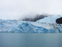 Spegazzini冰川-埃尔卡拉法特 库存图片