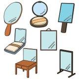 spegel Arkivbilder