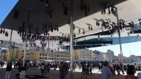 Spegel av Marseilles. Royaltyfria Foton
