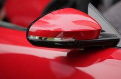 Spegel för bakre sikt Fotografering för Bildbyråer