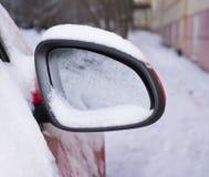 Spegel i snön Royaltyfria Bilder