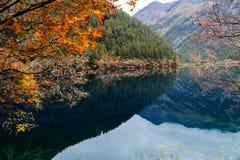 Spegel lake Fotografering för Bildbyråer