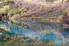 Spegel lake Arkivbild