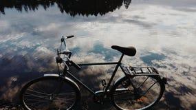 Spegel lake Arkivbilder