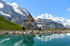 Spegel lake Royaltyfri Fotografi