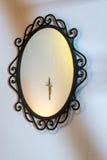 Spegel och kors Royaltyfria Foton
