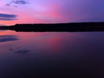 Spegel sjö Royaltyfria Bilder
