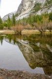 Spegel sjö Kalifornien Royaltyfri Fotografi