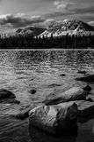 Spegel sjö, Utah Arkivfoto