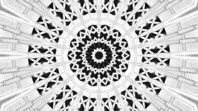 Spegeleffekt av metallstrukturer vektor illustrationer