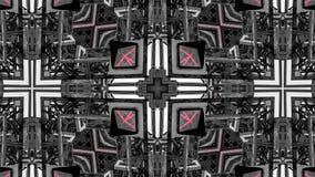 Spegeleffekt av metallstrukturer royaltyfri foto