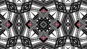 Spegeleffekt av metallstrukturer arkivfoton
