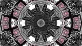 Spegeleffekt av metallstrukturer royaltyfri fotografi