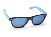 Spegelförsedd solglasögon för blått Royaltyfri Foto