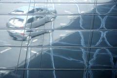 Spegelförsedda gator arkivfoton