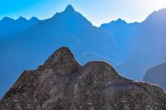 Spegelförsett berg royaltyfria foton