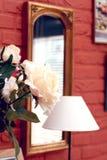 spegeln steg Fotografering för Bildbyråer