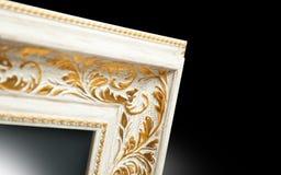 Spegelram i den forntida stilen Del av utsmyckat arkivbilder