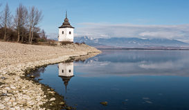 Spegelreflexion på sjön Royaltyfri Bild