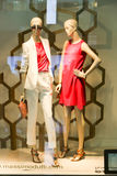 Speicher in Dubai-Mall lizenzfreie stockfotos