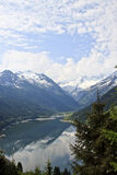 Speicher Durlassboden from Gerlos Pass, Austria Royalty Free Stock Images