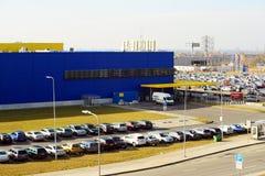 Speicher IKEAS Vilnius Ikea ist jetzt größter Möbeleinzelhändler Stockfotos