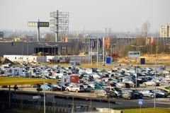 Speicher IKEAS Vilnius Ikea ist jetzt größter Möbeleinzelhändler Lizenzfreies Stockbild